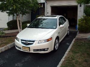 picture of acura tl 2010